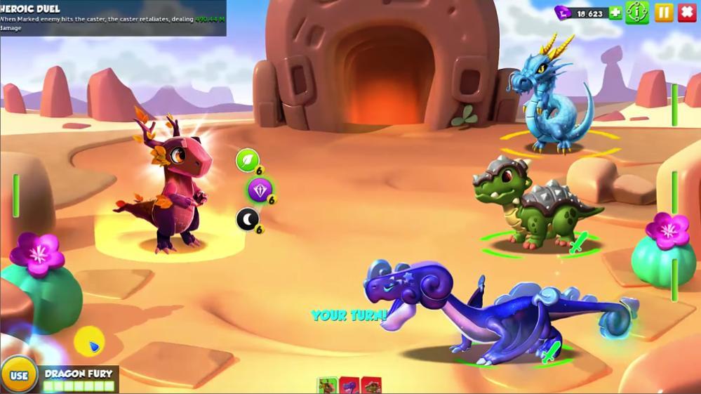 เกม Dragon mania Legends