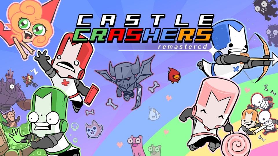 เกม Castle Crashers ที่ผู้เล่นจะได้สวมบทเป็นอัศวินพร้อมผองเพื่อนช่วยเจ้าหญิง