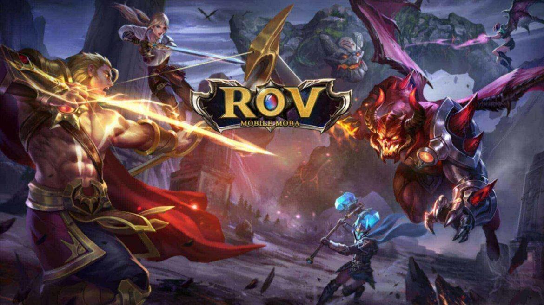 เกม ROV หนึ่งในเกมออนไลน์ที่มีคนเล่นเยอะที่สุดในโลก