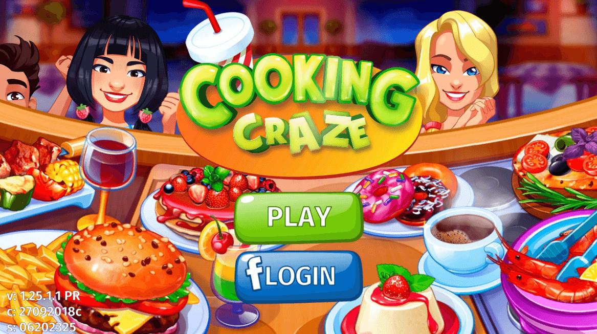 ชวนเล่นเกม Crazy chef cooking เกมทำอาหารสุดฮิตแห่งยุค