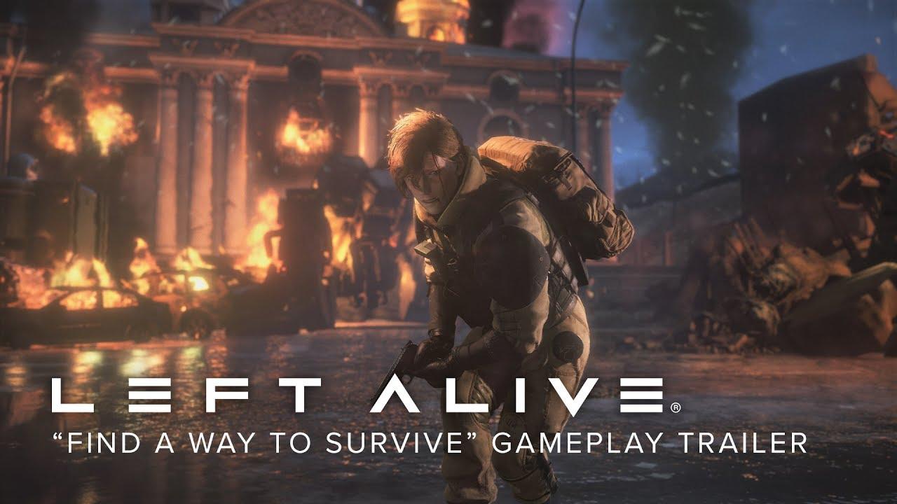 """รีวิว """"เกม Left Alive"""" สงครามของ """"เกมยิงปืน"""" เพื่อพิชิตหุ่นยนต์"""