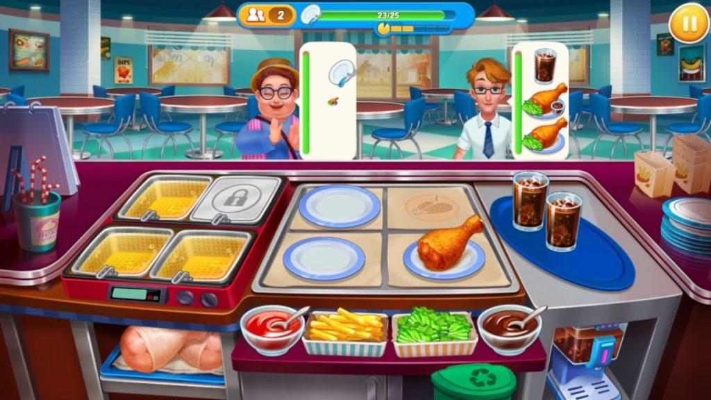 เกม Crazy chef cooking