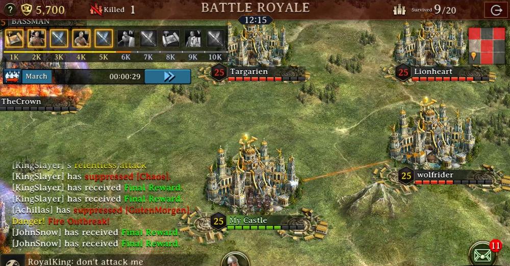 เกม Iron Throne