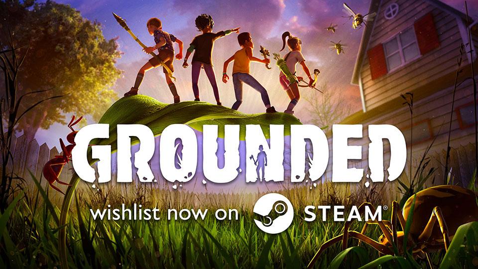 """เกมแปลกๆที่จะย่อส่วนให้ผู้เล่นเข้าไปเอาชีวิตรอดจากแมลงใน """"เกม GROUNDED"""""""