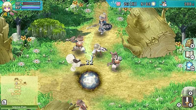 Rune Factory เกมแนว RPG