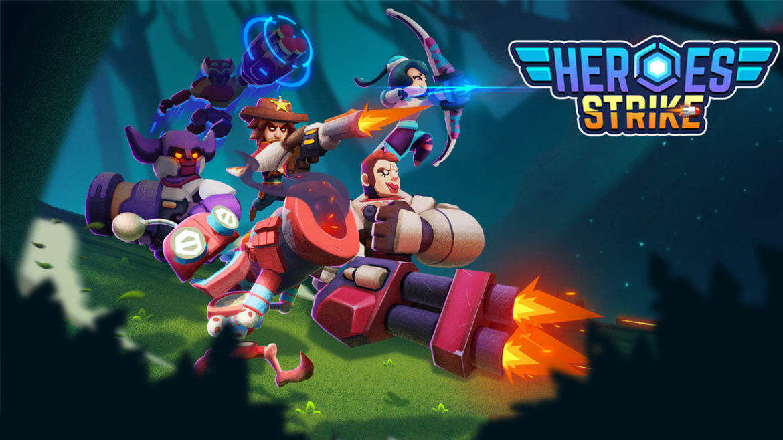 """Heroes Strike"" เกมลูกผสมระหว่าง MOBA และ Battle royal ที่คุณห้ามพลาด"
