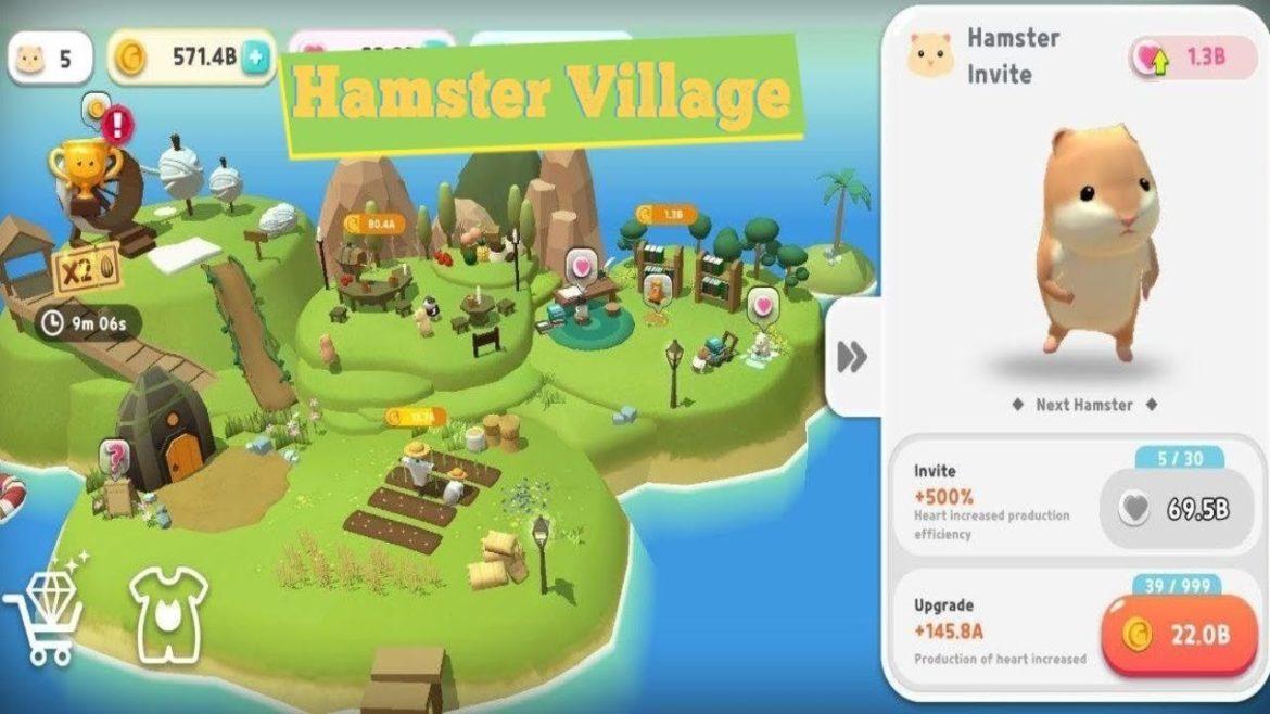 เกม Hamster Village เกาะสุดชิวล์ที่มีแฮตสเตอร์มากมาย รอให้คุณเข้าไปสัมผัส
