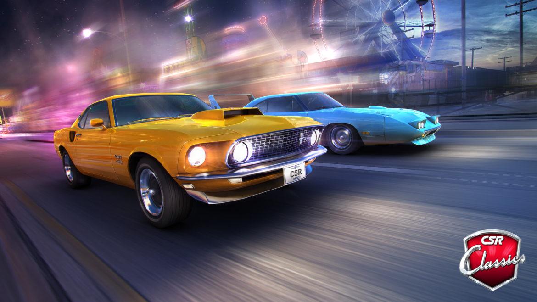 เกม CSR Classic โมดิฟายรถไสตล์ Muscle car ไปประลองความเร็วในยุค 80