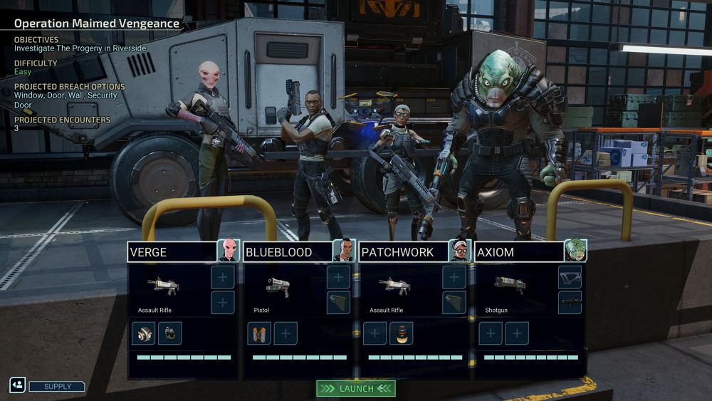 เกม Xcom : Chimera Squad