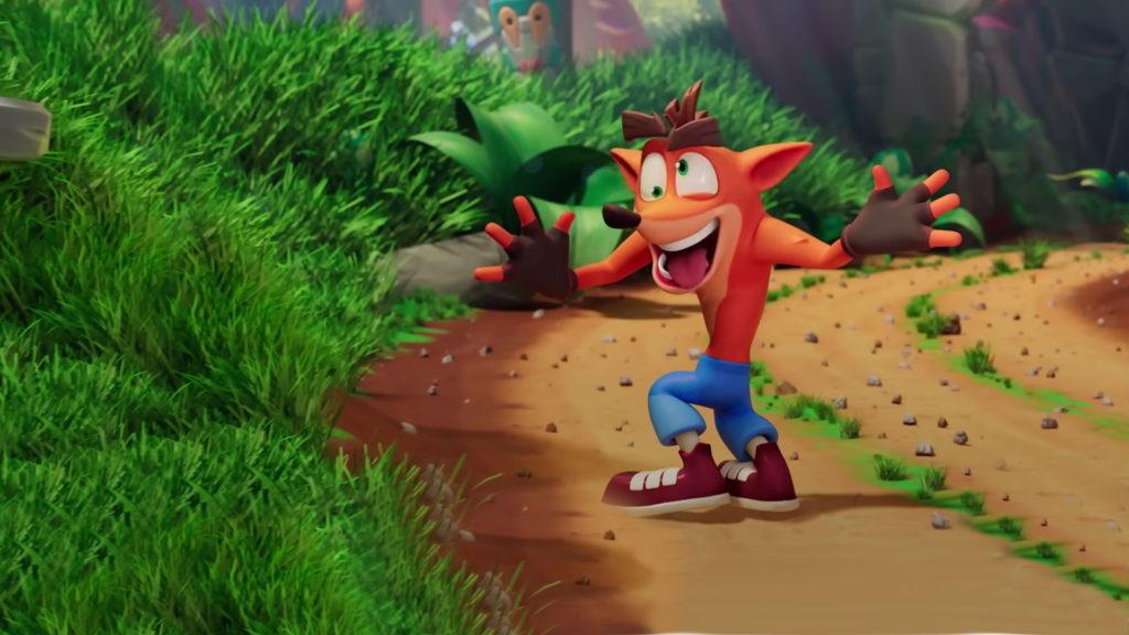 เกม Crash Bandicoot :On the Run