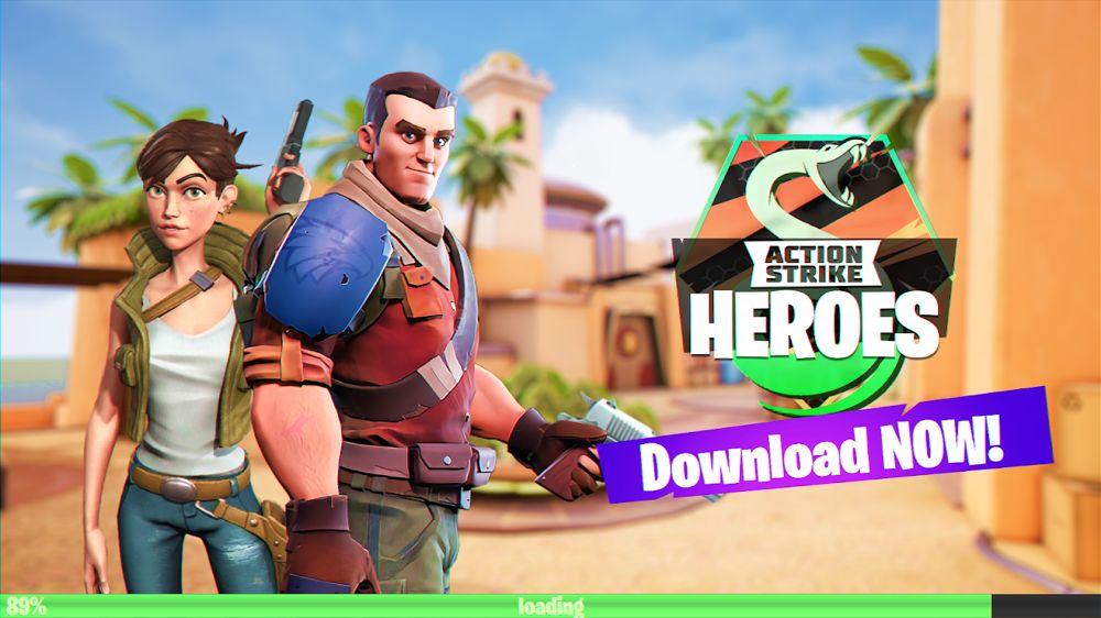 จับปืนให้พร้อมและออกไปบู๊สนั่นจอกับเกม Action Strike Heroes PvP FPS