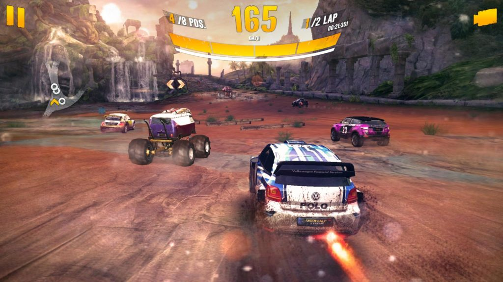 เกม Asphalt Xtreme Rally Racing