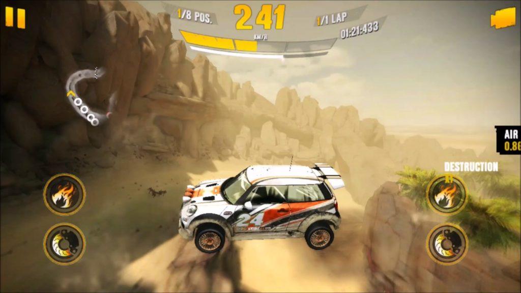 เกม Asphalt Xtreme Rally Racing