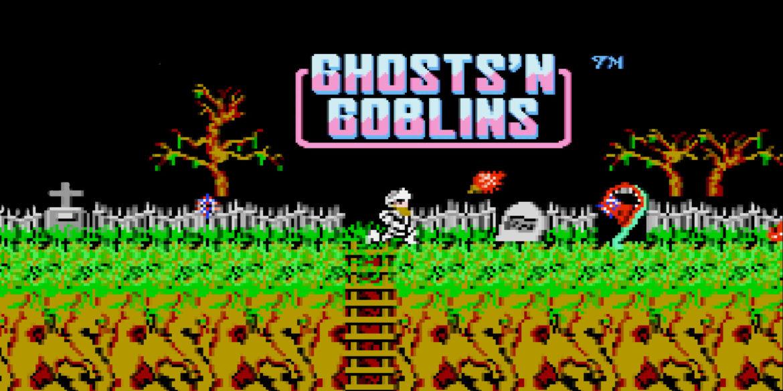 โกสต์แอนด์กอบลินส์ (Ghosts'n Goblins) เกมไล่ยิงหลายคอนโซล