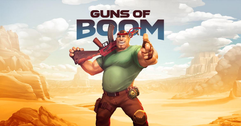 เกม Guns of Boom สงครามของเหล่านักรบที่เน้นความแม่นยำเป็นหลัก