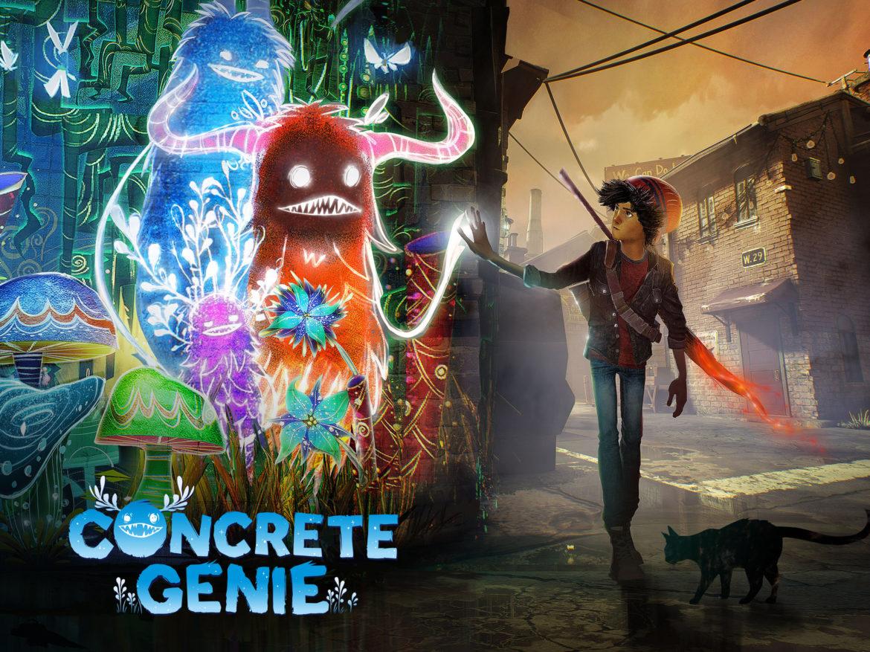 เกม Concrete Genie กับการเปลี่ยนเมืองที่เต็มไปด้วยมลพิษให้สดใสด้วยศิลปะ