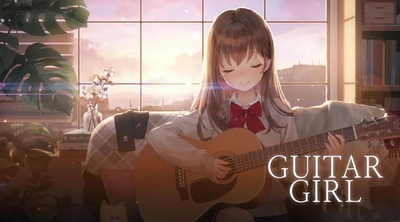 Guitar Girl Relaxing Music Game ไปกับเสียงดนตรีพร้อมกราฟฟิกสไตล์อนิเมะ