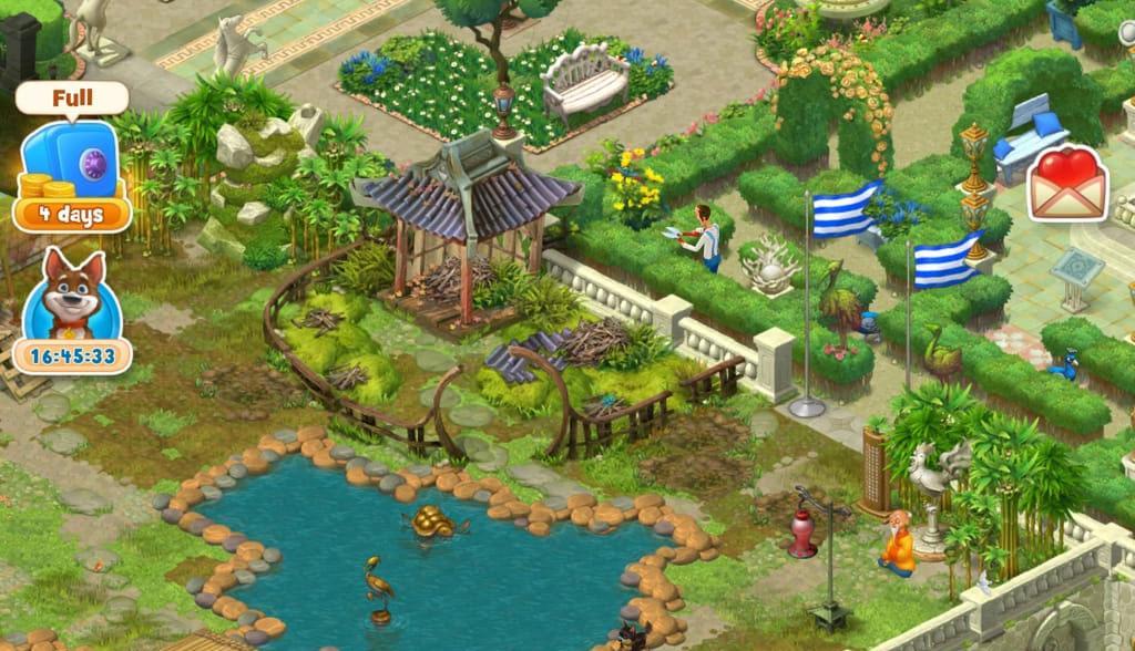 เกม Gardenscapes