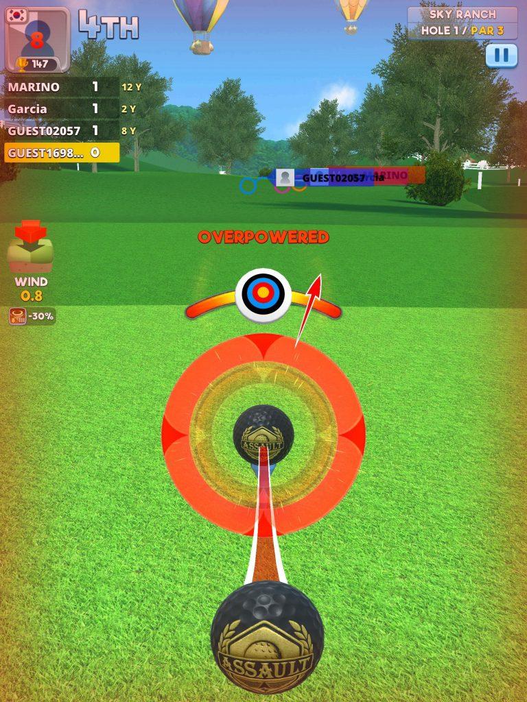 เกม Extreme Golf