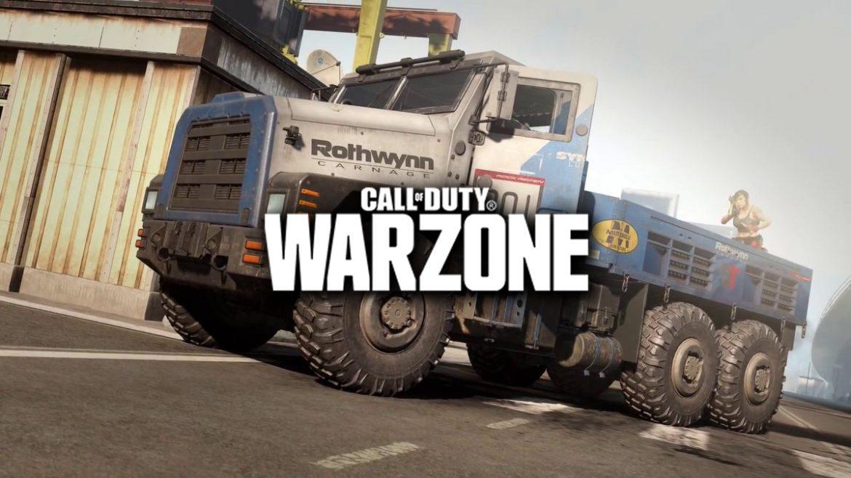 """""""Call of Duty Warzone"""" ที่ต้องเก็บรถบรรทุกติดอาวุธออกไปจากเกม"""