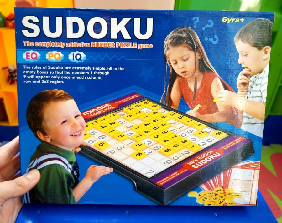 เกมบริหารสมอง Sudoku ปริศนาตรรกะ