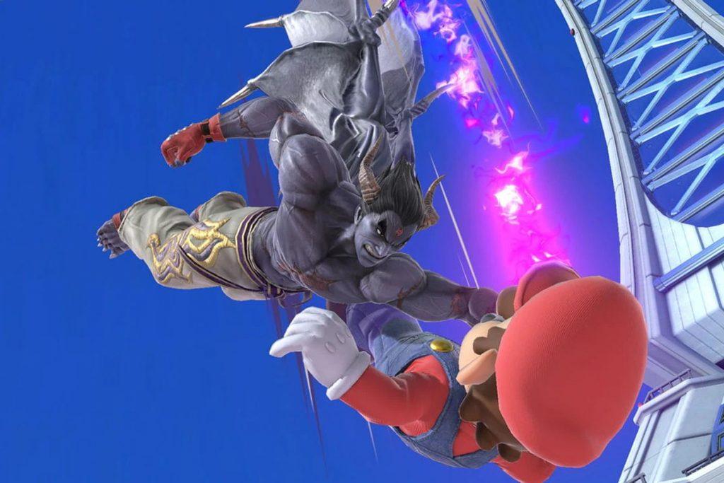 kazuya Mishima จากเกม Super Smash Bros Untimate