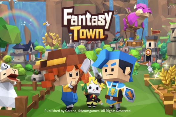 """""""Fantasy Town"""" เกมสนุกสุดเหวี่ยงที่เล่นแล้วจะหยุดวางมือถือไม่ได้"""
